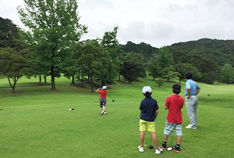 ジュニアゴルフ拡充への取り組み